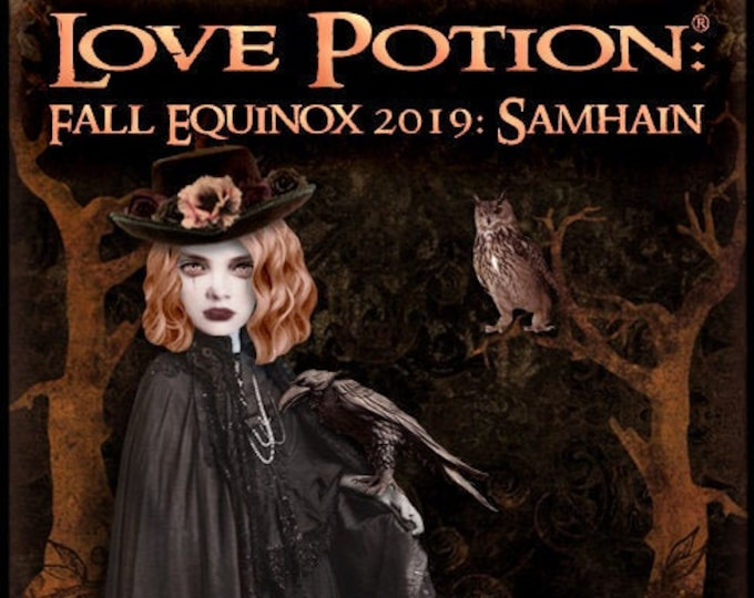 Love Potion ~ Fall Equinox 2019: Samhain w/Hedione - Halloween Collection 2019 - Unisex Fragrance - Love Potion Magickal Perfumerie