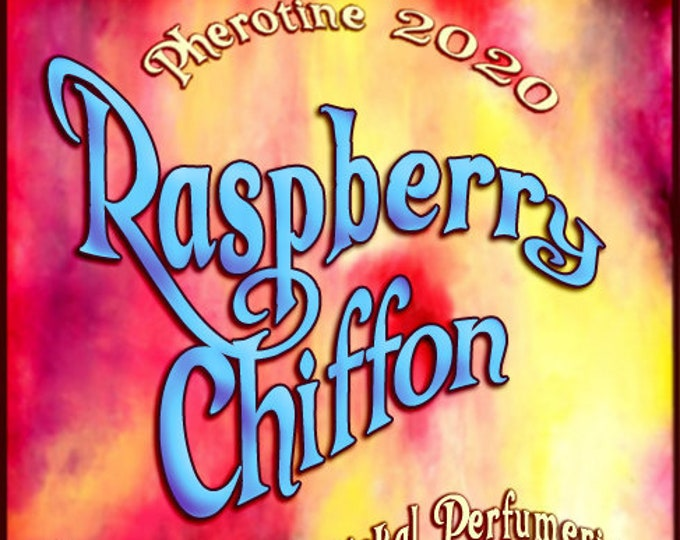 Raspberry Chiffon w/ Charisma for Women ~ Pherotine 2020 ~ Phero Enhanced Fragrance - Love Potion Magickal Perfumerie - Pherotine 2019