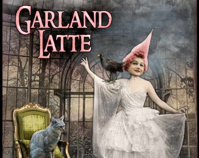 Garland Latte - Halloween 2019 Collection - Handcrafted Perfume for Women - Love Potion Magickal Perfumerie