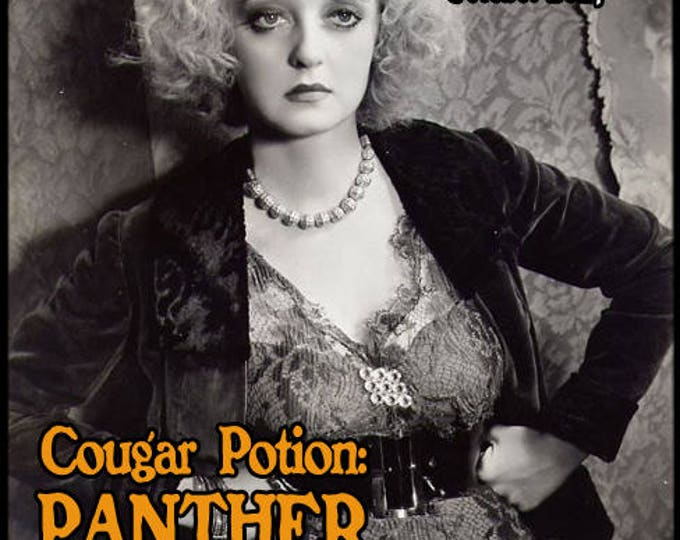Cougar Potion: Panther - Halloween 2017 Collection - Pheromone Enhanced Perfume for Women - Love Potion Magickal Perfumerie