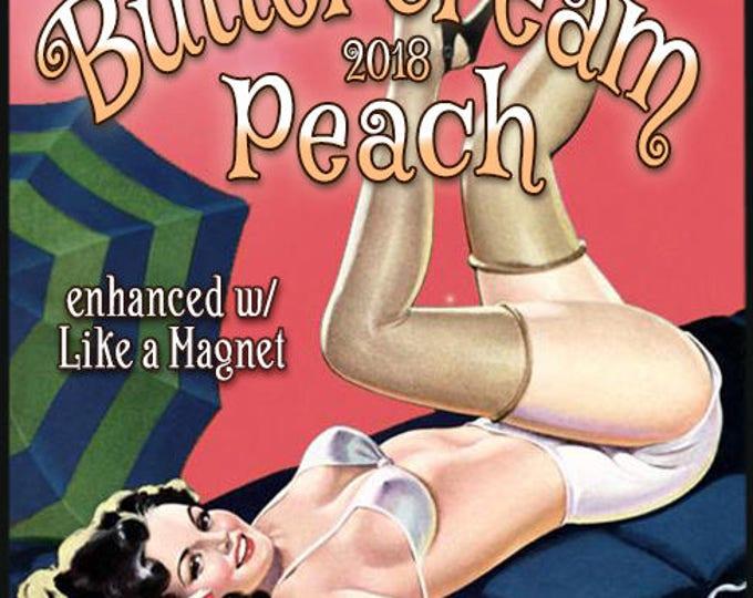 Buttercream Peach w/ Like a Magnet + Aja - Pheromone Enhanced Perfume for Women - Love Potion Magickal Perfumerie - Pherotine 2018