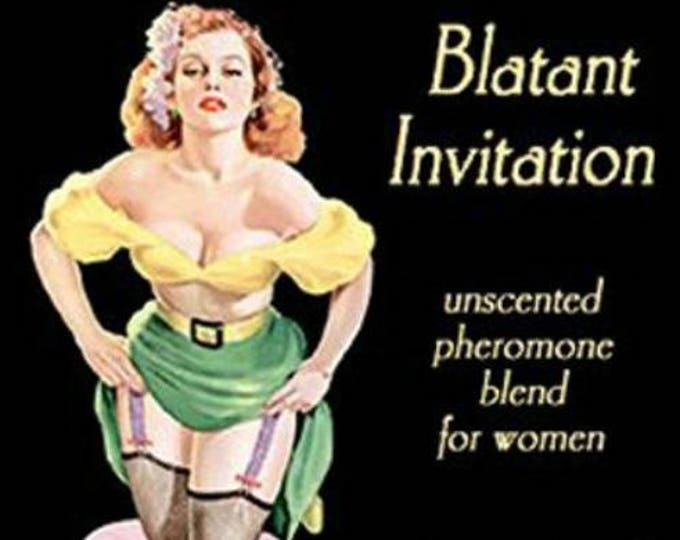 Blatant Invitation - UNscented Pheromone Blend - for Women - Love Potion Magickal Perfumerie