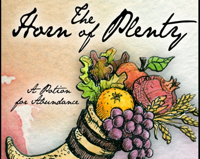 The Horn of Plenty: Cimaruta Spell Collection 2020 - A Potion for Abundance - Love Potion Magickal Perfumerie