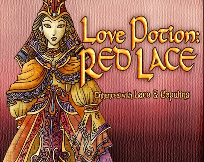 Love Potion: Red Lace w/ Lace & Copulins - Pheromone Enhanced Fragrance for Women - Love Potion Magickal Perfumerie - Pherotine 2019