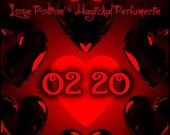 02.20 ~ February 2020 ~ Unisex Phero Enhanced Fragrance - Love Potion Magickal Perfumerie