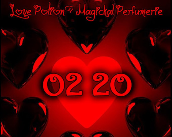 02.20 ~ February 2020 ~ Unisex Phero Enhanced Fragrance - Love Potion Magickal Perfumerie