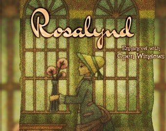 Rosalynd w/ Open Windows - Vault Collection 2019 - Limited Edition Fragrance for Women - Love Potion Magickal Perfumerie
