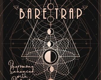 Bare Trap w/ Blatant Invitation - Phero Enhanced Fragrance - Autumn 2020 - Love Potion Magickal Perfumerie