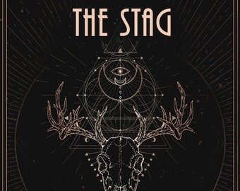The Stag - Handcrafted Unisex Fragrance - Autumn 2020 - Love Potion Magickal Perfumerie