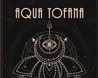 Aqua Tofana - Handcrafted Fragrance - Autumn 2020 - Love Potion Magickal Perfumerie