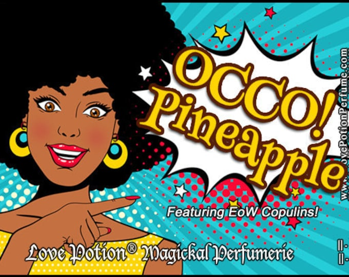 OCCO: Pineapple w/Copulins - LIMITED EDITION! - Pheromone Enhanced Perfume for Women - Love Potion Magickal Perfumerie