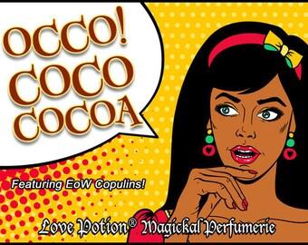 OCCO: Coco Cocoa w/Copulins - LIMITED EDITION! - Pheromone Enhanced Perfume for Women - Love Potion Magickal Perfumerie