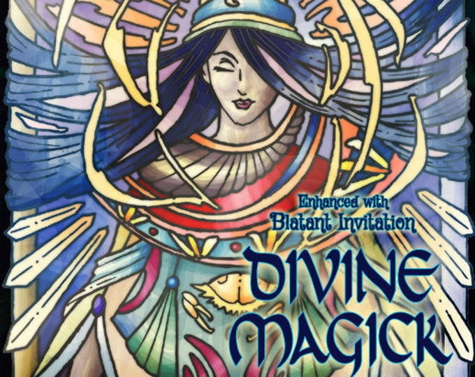 Divine Magick w/ Blatant Invitation - Pheromone Enhanced Fragrance for Women - Love Potion Magickal Perfumerie - Pherotine 2019