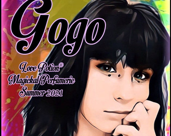 Gogo - Summer 2021 - Handcrafted Perfume - Love Potion Magickal Perfumerie