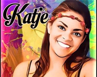 Katje - Summer 2021 - Handcrafted Perfume - Love Potion Magickal Perfumerie