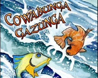 Cowabunga Gazunga - Summer 2018 - Handcrafted Perfume for Women - Love Potion Magickal Perfumerie