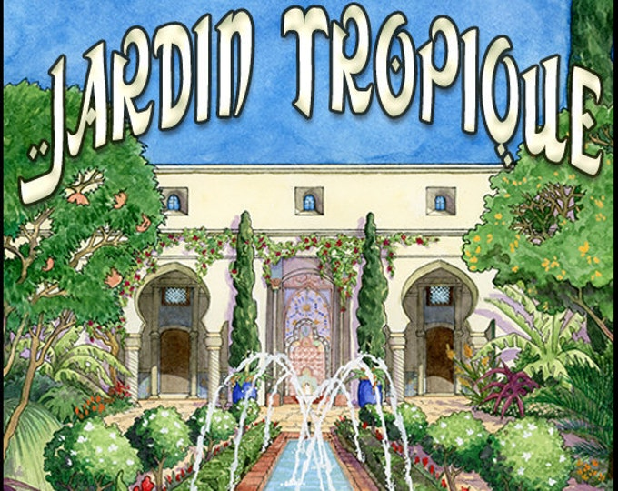 Jardin Tropique - Summer 2018 - Handcrafted Perfume for Women - Love Potion Magickal Perfumerie