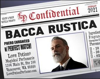 Bacca Rustica w/ Perfect Match ~ Pherotine 2021 ~ Phero Enhanced Fragrance for Everyone - Love Potion Magickal Perfumerie