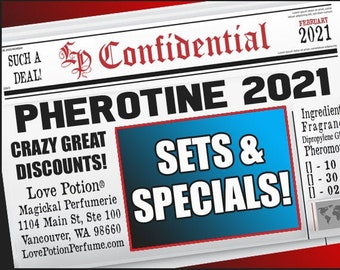 Pherotine 2021 Collection - Sets & Specials! - Love Potion Magickal Perfumerie
