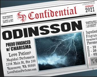 Odinsson w/ Charisma for Men - Pherotine 2021 ~ Phero Enhanced Fragrance for Men - Love Potion Magickal Perfumerie