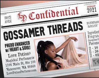 Gossamer Threads w/ Heart & Soul ~ Pherotine 2021 ~ Phero Enhanced Fragrance for Women - Love Potion Magickal Perfumerie