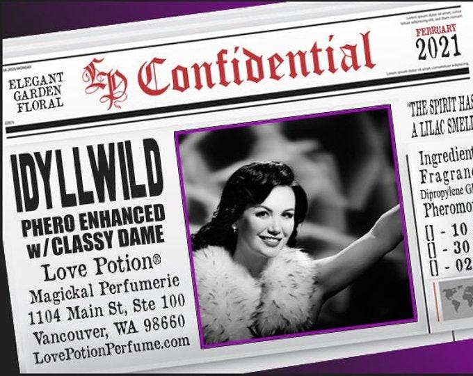 Idyllwild w/ Classy Dame ~ Pherotine 2021 ~ Phero Enhanced Fragrance for Women - Love Potion Magickal Perfumerie