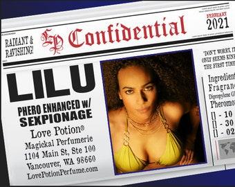 LILU w/ Sexpionage ~ Pherotine 2021 ~ Phero Enhanced Fragrance for Women - Love Potion Magickal Perfumerie