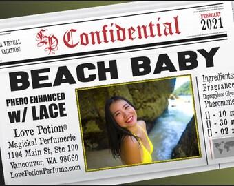 Beach Baby w/ Lace ~ Pherotine 2021 ~ Phero Enhanced Fragrance for Women - Love Potion Magickal Perfumerie