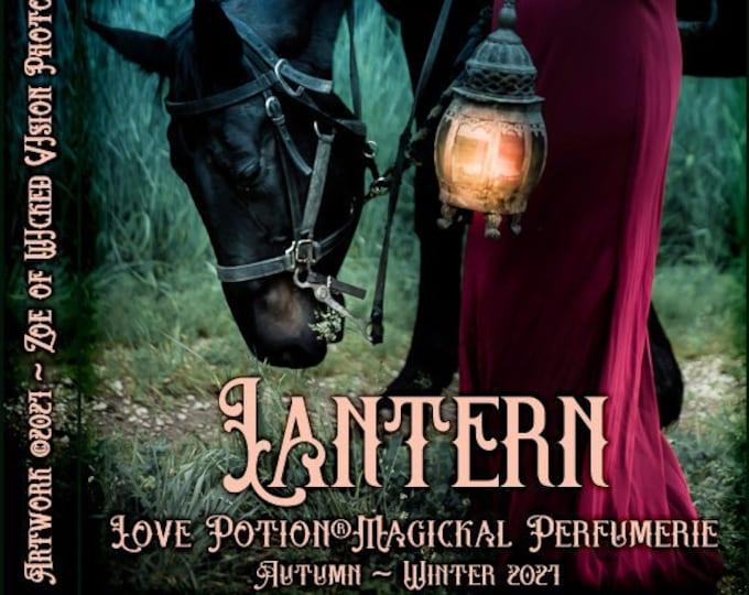 Lantern w/ Blatant Invitation ~ Autumn 2021 ~ Phero Enhanced Fragrance for Women - Love Potion Magickal Perfumerie
