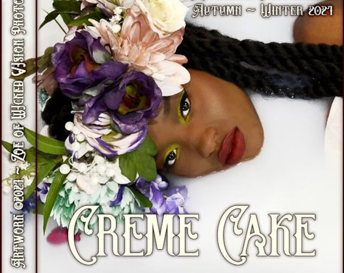 Creme Cake ~ Autumn 2021 ~ Hand Crafted Fragrance for Women - Love Potion Magickal Perfumerie