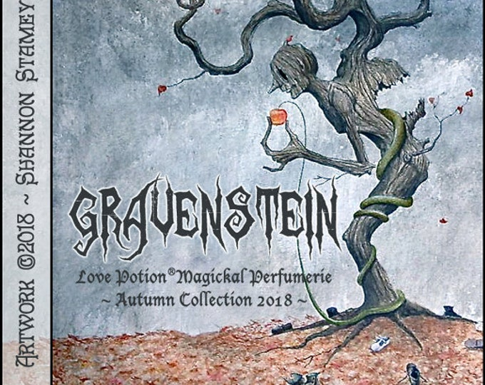 Gravenstein - Autumn 2018 - Handcrafted Perfume for Women - Love Potion Magickal Perfumerie