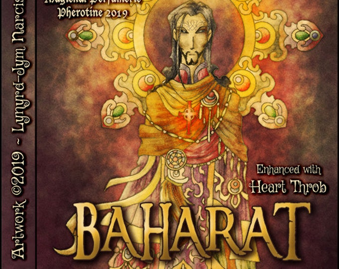 Baharat w/ HeartThrob - Pheromone Enhanced Fragrance for Men - Love Potion Magickal Perfumerie - Pherotine 2019