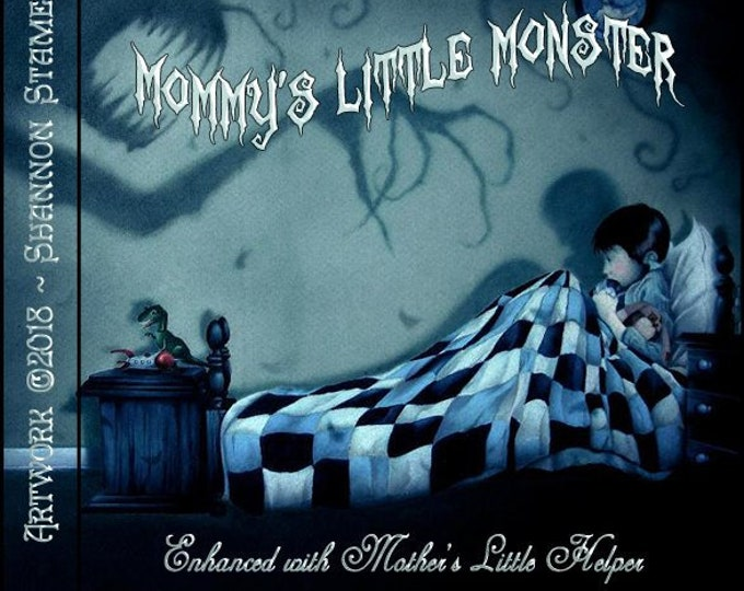 Mommy's Little Monster w/ Mother's Little Helper - Autumn 2018 - Phero Enhanced Perfume Spray for Women - Love Potion Magickal Perfumerie