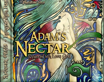 Adam's Nectar w/ Love God - Pheromone Enhanced Fragrance for Men - Love Potion Magickal Perfumerie - Pherotine 2019