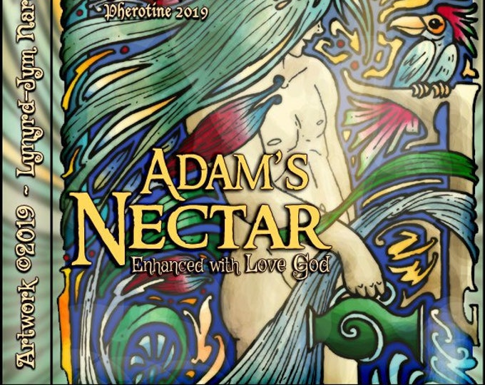 Adam's Nectar w/ Love God - Pheromone Enhanced Fragrance for Men - Love Potion Magickal Perfumerie - Pherotine 2019