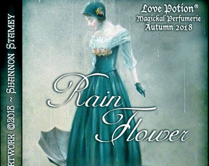 Rain Flower w/ Hedione - Autumn 2018 - Handcrafted Perfume for Women - Love Potion Magickal Perfumerie