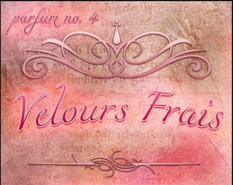 Velours Frais - Summer 2019: The French Collection - Ltd Ed Fragrance - Love Potion Magickal Perfumerie
