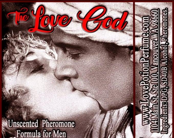 The Love God - UNscented Pheromone Formula for Men - Love Potion Magickal Perfumerie
