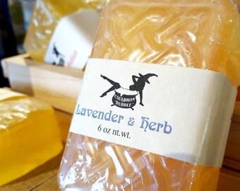 Lavender & Herb - Vegan Glycerin Aloe Soap - Love Potion Magickal Perfumerie