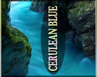 THREEBIES! Lot #506 - Crayons: Cerulean Blue, Indigo, Vivid Violet - Crayon Collection - Love Potion Magickal Perfumerie