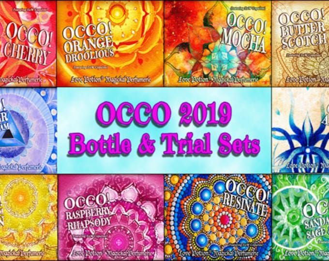 OCCO 2019: Limited Edition Set - Copulin Enhanced - Sets and Specials - Love Potion Magickal Perfumerie