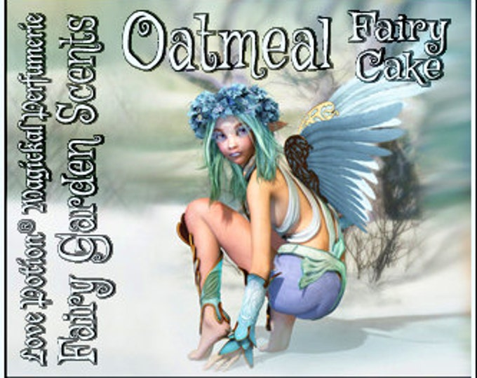 Fairy Cake: Oatmeal - Sweet & Youthful Layerable Perfume - Love Potion Magickal Perfumerie