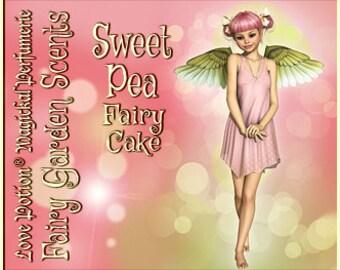 Fairy Cake: Sweet Pea - Sweet & Youthful Layerable Perfume - Love Potion Magickal Perfumerie