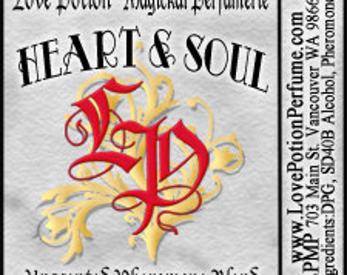 PHEROTINE! Heart & Soul for Women - Pheromone Blend - Limted Ed UNscented Pheromone Trials by Love Potion Magickal Perfumerie