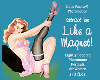 Like a Magnet: Lightly Scented Pheromone Blend for Women - Choice of Scents! - Love Potion Magickal Perfumerie