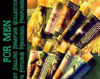 Best Selling Sampler Set for Men - Newbie Special! - Love Potion Magickal Perfumerie