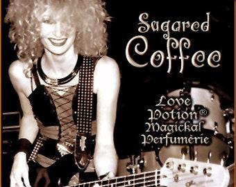 THREEBIES! Lot #860 Sugared Coffee, Hay, Myrrh - Black Magic Friday Specials! Love Potion Magickal Perfumerie