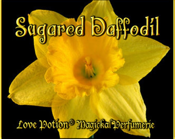 THREEBIES! Lot #862 Sugared Daffodil, Geranium, Wisteria - Black Magic Friday Specials! Love Potion Magickal Perfumerie