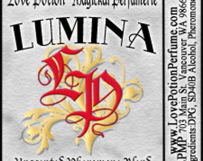 PHEROTINE! Lumina for Women ~ Pheromone Blend - Limited Ed UNscented Pheromone Trials by Love Potion Magickal Perfumerie