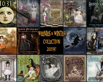 Autumn and Winter Collection 2019 - Sets and Specials - Love Potion Magickal Perfumerie